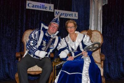 Prinzenpaar Prinz Camille 1und Prinzessin Margret 1